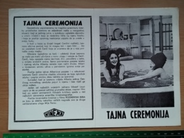 Prog 61 - Secret Ceremony (1968) - Elizabeth Taylor, Robert Mitchum, Mia Farrow - Cinema Advertisement