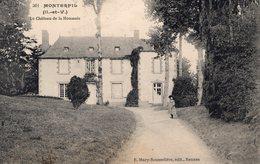Monterfil (35) - Le Château De La Houssais. - Autres Communes