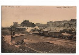 IJmuiden - Station - Locomotief - Trein - 1903 - Grootrond - IJmuiden