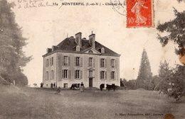 Monterfil (35) - Le Château. - Autres Communes