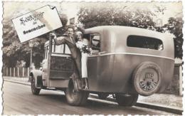 D28 - SENONCHES - SOUVENIR DE SENONCHES - Bus Ancien Avec Certainement Des Jeunes Mariés - Carte Originale - France