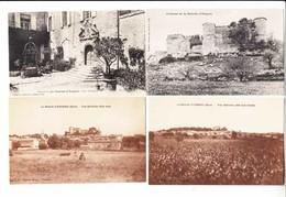France 30  - 4 Cartes De La Bastide D'Engras     : Achat Immédiat - Autres Communes