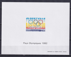 FRANCE 1992, Mi# 2904, Deluxe Block, Sport, Olympics Barcelona - Estate 1992: Barcellona