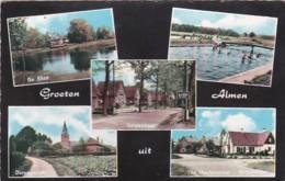 477076Groeten Uit Almen. 1- 1965. (zie Hoeken En Randen) - Netherlands