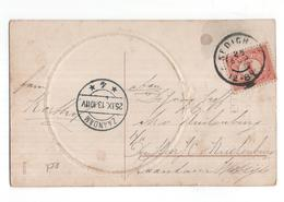 Kedichem Grootrond - Zaandam Langebalk 4 - 1913 - Marcophilie