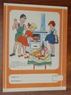 PROTÈGE CAHIER - Rhum NEGRITA - Martinique - Enfants Cuisine - Années 50 - 17.5x23 - Bon Etat D'usage : Voir Photos - 34 - Protège-cahiers