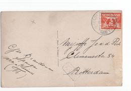 Heppenzeel Munnekeburen (FR) Kortebalk - 1928 - Poststempel