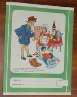 PROTÈGE CAHIER - Rhum NEGRITA - Guadeloupe - Enfants Docteurs- Années 50 - 17.5x23 - Bon Etat D'usage : Voir Photos - 35 - Protège-cahiers