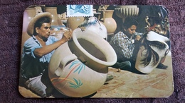 CPM METIER PEINTURE DE POTERIES TLAQUEPAQUE MEXICO MEXIQUE 1971ED AMMEX - Artisanat