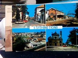 STAZIONE FERROVIARIA CORBETTA A SANTO S. STEFANO TICINO VEDUTE   VB1987 HP8328 - Milano