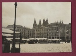 290420B - PHOTO Ancienne - ESPAGNE BURGOS - Mercado - Burgos