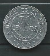 Bolivia 50 Centavos 2008   - Pieb23205 - Bolivia
