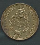 MONNAIE COSTA RICA 100 COLONES 2007   - Pieb23207 - Costa Rica
