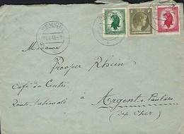 Luxembourg  -  Lettre -  16.7.1946 - Luxembourg