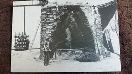 CPSM LE FUILLET 49 FETE DE LA POTERIE SEPT 1984 POTERIE CUSSONNEAU LA REBIONNIERE CUISSON A BOIS LE FOUR 210 / 500 - Artisanat