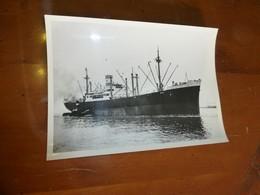 """Navire De Charge """"Bakala"""" (Afrique) Chargeurs Réunis, Photo Originale Vers 1948 13x18, Ref 1531 ; FOTO 01 - Bateaux"""