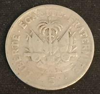 Pas Courant - HAITI - 5 CENTIMES 1970 - KM 62 - Haiti