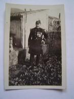 PHOTOGRAPHIE Ancienne : MARINE FRANCAISE / OFFICIER EN TENUE - Documents