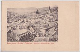 Capernaum Galiläa Palästina Jésus Histoire Sainte Carte Postale Levant Autrichien Autriche Austria Palestine Israël - Palestina