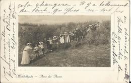 Middelkerke - Foto Dragende Postkaart - Carte Postale Porte Photo - 1913 Carte Aristo STAR (Uitg De Graeve) - Middelkerke