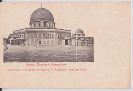 Omars Moschee Palästina Mosque Mosquée Carte Postale Levant Autrichien Autriche Austria Palestine Israël - Palestina