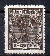 Sello Nº 22  Rio De Oro - Rio De Oro