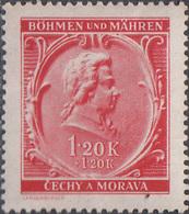 Tsjechië / Czech Republic 1941, Mozart, Don Giovanni, Michel 81 MNH 27166 - Musique