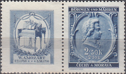 Tsjechië / Czech Republic 1941, Mozart, Don Giovanni, Michel 82 MNH 27167 - Musique