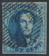 "Médaillon - N°4 Margé Obl P4 ""Anvers"". TB - 1849-1850 Médaillons (3/5)"