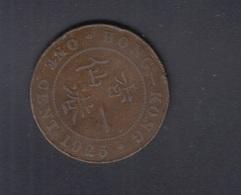 Hong Kong One Cent 1925 - Hong Kong
