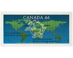 Ref. 51049 * MNH * - CANADA. 1999. 125th ANNIVERSARY OF UPU . 125 ANIVERSARIO DE LA UPU - Géographie