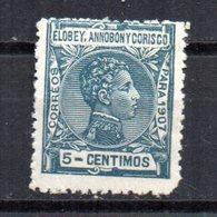 Sello  Nº 39  Elobey - Elobey, Annobon & Corisco