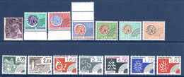 1942/1988 France Préoblitérés Neufs** N°81,125,127,129,137/8,142,167,176,195/7,199,200   4 €  (cote 26,70 €  14 Valeurs) - Préoblitérés