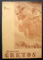 Lithuanian Magazine/ Jaunimo Gretos No. 2 1945 - Livres, BD, Revues