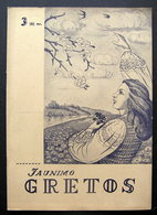 Lithuanian Magazine/ Jaunimo Gretos No. 3 (6) 1945 - Livres, BD, Revues