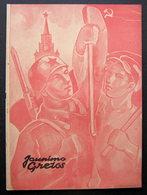 Lithuanian Magazine/ Jaunimo Gretos No. 5 (8) 1945 - Livres, BD, Revues