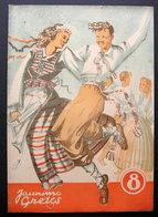 Lithuanian Magazine/ Jaunimo Gretos No. 8 (11) 1945 - Livres, BD, Revues
