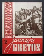 Lithuanian Magazine/ Jaunųjų Gretos No. 2 1944 - Livres, BD, Revues