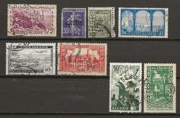 Algérie, Petit Lot De Timbres Perforés (tous états, Les Perforations Sont Belles) - Algérie (1924-1962)