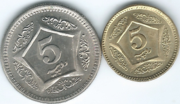 Pakistan - 5Rupees - 2003 - KM65 & 2015 - KM75 - Pakistan