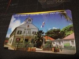 ST MAARTEN $20,- COURT HOUSE    FINE  USED      ** 1702** - Antille (Olandesi)