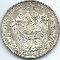 Panama - 1961 - ½ Balboa - KM26 - AUNC - Panama