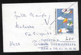 Italy - 1978 Cover To Trieste Non Normalizzata - 400L Segnatasse / Postage Due - Portomarken