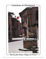 """Castelnau De Montmiral """" Un Des Plus Beaux Villages De France """" Vue Générale Photography By Clyn Dunlop - Castelnau De Montmirail"""