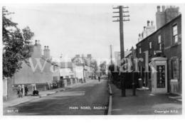 BAGILLT MAIN ROAD OLD RP POSTCARD FLINTSHIRE WALES - Flintshire