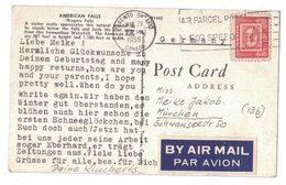 KF43     Post Card By Air Mail To Germany 15c Obl. Mec. 21.03.1955 Toronto, Ontario - Briefe U. Dokumente