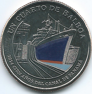 Panama - 2016 -¼ Balboa - Panama Canal Centenary - Panama
