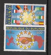 Burundi - 1993 - N°Mi. 1772 à 1773 - Union Européenne - Neuf Luxe ** / MNH / Postfrisch - Burundi