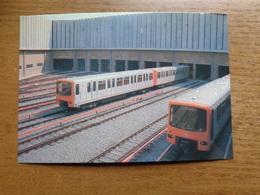 Bruxelles: Overzicht Van De Metroremise Te Oudergem --> Onbeschreven - Transport Urbain Souterrain