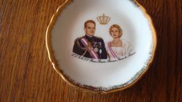 Petite Assiette Monaco - Prince Rainier, Princesse Grace De Monaco - Porcelana